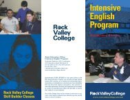 Intensive English Program - Rock Valley College