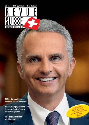 Didier Burkhalter est le nouveau conseiller ... - Schweizer Revue