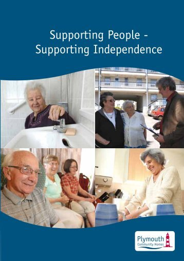Supporting People - Plymouth Community Homes