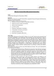 Ride On Transportation Management Association - Osmose