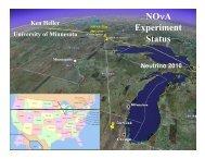 NOVA status pdf - Fermilab