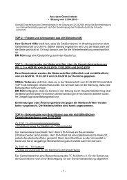 Protokoll vom 21. April 2010 - Nußloch