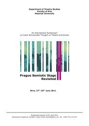 Prague Semiotic Stage Revisited