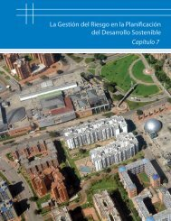 La Gestión del Riesgo en la Planificación del Desarrollo Sostenible