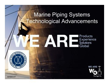 Marine Piping Systems Technological Advancements - SNAME.org