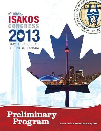 Preliminary Program - ISAKOS