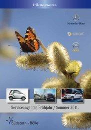 Frühjahrsangebote Südstern - Bölle AG + Co KG - Mercedes-Benz ...