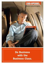 Do Business with the Business Class.