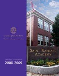 2008-2009 Annual Report - Saint Raphael Academy