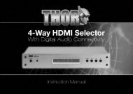 28575T - 4-Way HDMI & Audio Selector [267.pdf] - Philex
