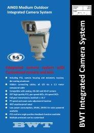 BWT Integrated Cam era System