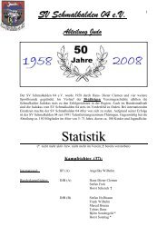 chronik download 2008 - SV Schmalkalden 04 eV Judo