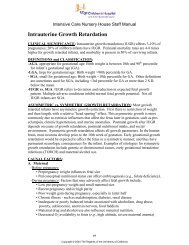 Intrauterine Growth Retardation