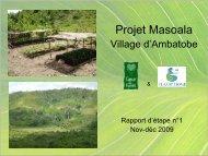Rapport d'étape n°1 - Coeur de Forêt