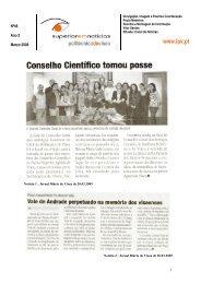 Boletim Superior em Notícias n.º 46 de 20 de Março de 2009