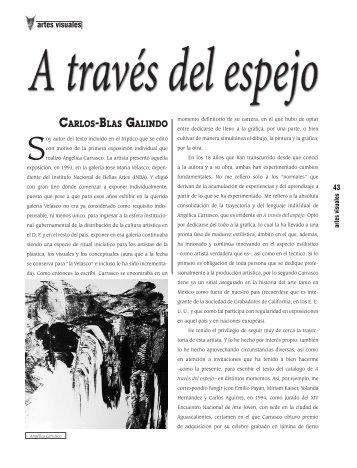 Carlos-Blas Galindo - Revista EL BUHO