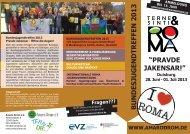 """""""PRAVDE JAKENSAR"""" vom 28. Juni bis 01. Juli 2013 - Amaro Drom"""