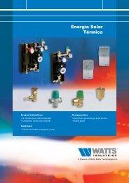 Energía Solar Térmica - Watts Industries