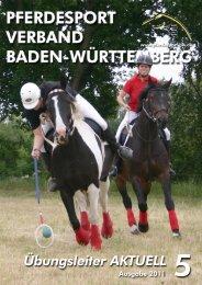 Ausgabe 05/2011 - Verband der Pferdesportvereine Nordbaden