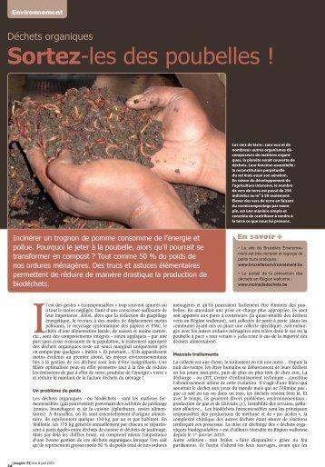 Sortez-les des poubelles ! - Inter-Environnement Wallonie