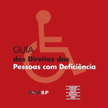 Guia dos Direitos das Pessoas com Deficiência - OAB-SP