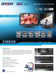 23REDB - Orion Images Corporation
