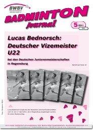 Lucas Bednorsch -  Baden - Württembergischer  Badminton - Verband