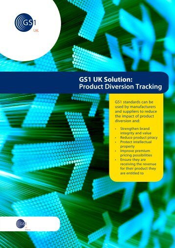 Product diversion tracking pdf - GS1 UK