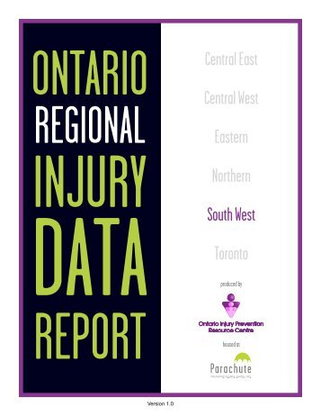 South West Region - Ontario Injury Prevention Resource Centre
