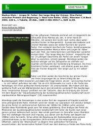 Markus Klein / Jürgen W. Falter: Der lange Weg der ... - Sehepunkte