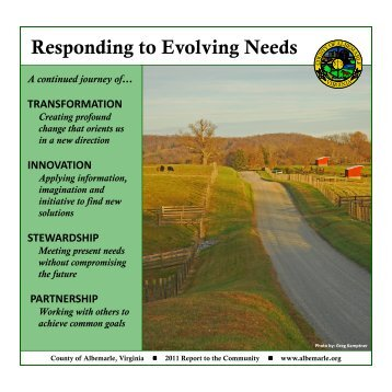 Annual Report - Albemarle County