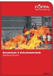 Brandschutz & Sicherheitstechnik - Foppa AG