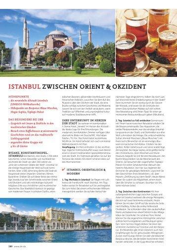 ISTANBUL ZWISCHEN ORIENT & OKZIDENT