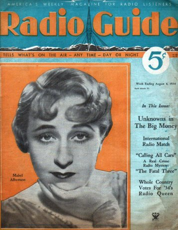 RG 340804 - Old Time Radio Researchers Group