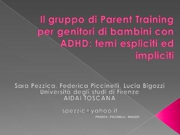 Il gruppo di Parent Training per genitori di bambini con ADHD - Aidai