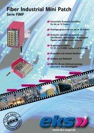 Fiber Industrial Mini Patch - Pericom AG