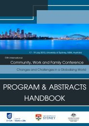 Symposium & Stream Abstracts - All Occasions Management Group