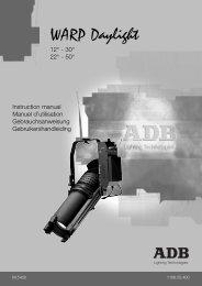 WARP Daylight - ADB Lighting Technologies