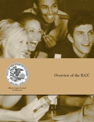 Overview of the ILCC - State of Illinois