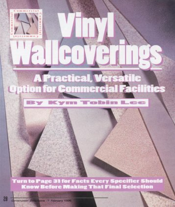 Vinyl Wallcoverings - AWCI