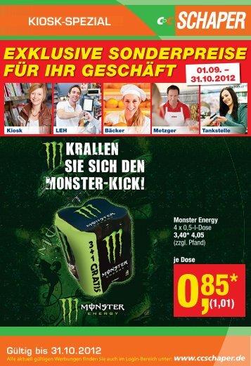 Kiosk Spezial - C+C Schaper Gmbh