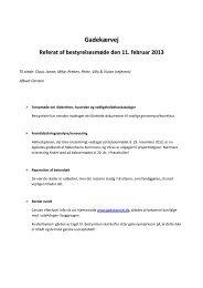 Bestyrelsesmøde 11-02-2013 - Domea