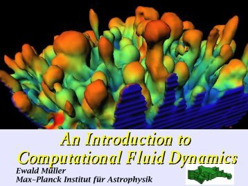 An Introduction to Computational Fluid Dynamics - LUTh