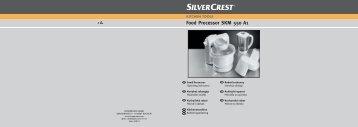 Food Processor SKM 550 A1 - Kompernass