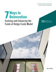 Seven Ways to Reinvention - SEI