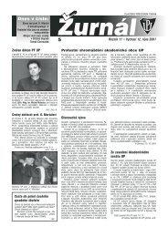 Ročník 11 • Vychází 12. října 2001 Cesta do pekel českého ...