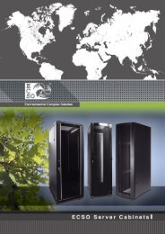 Environmental Complex Solution - ECSO Klimatechnik