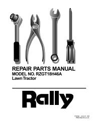 repair parts - Klippo