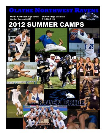 Raven-Summer-Camps-2012 - Olathe Northwest High School