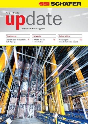 Unternehmensmagazin - SSI Schäfer